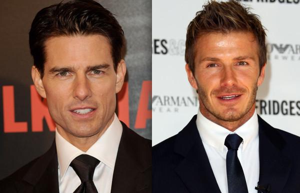 Bekham si dà al cinema e prende lezioni da Tom Cruise