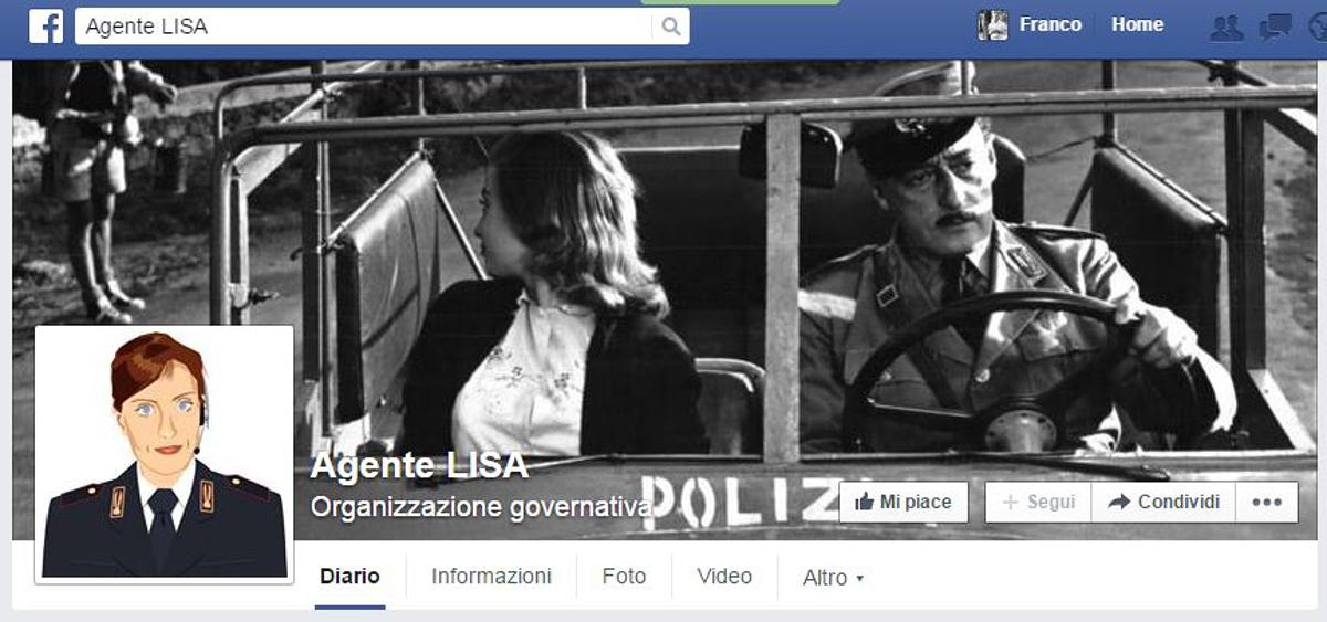 L'agente Lisa della polizia conquista Facebook: oltre 226mila like