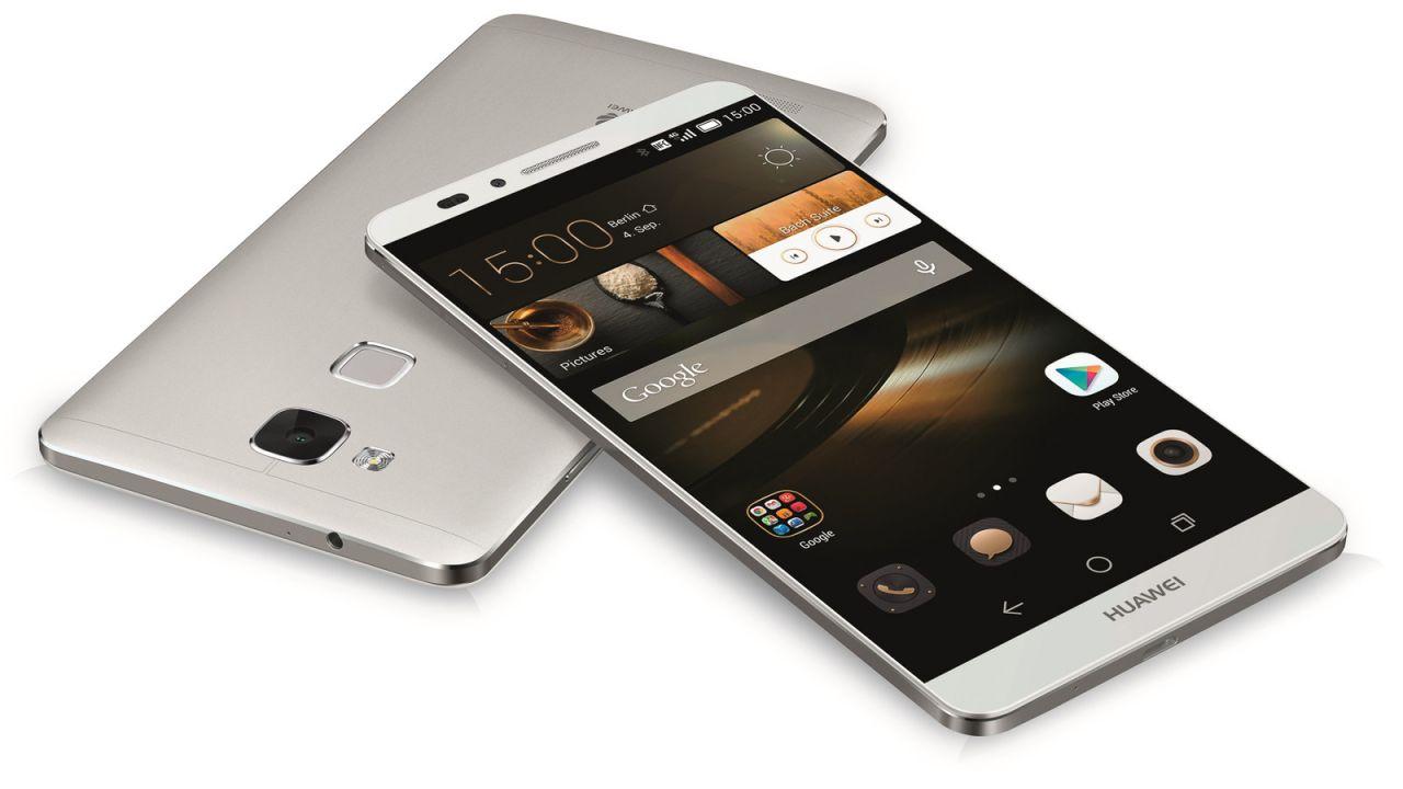Huawei Mate S: smartphone gioiello che si ricarica in 10 minuti