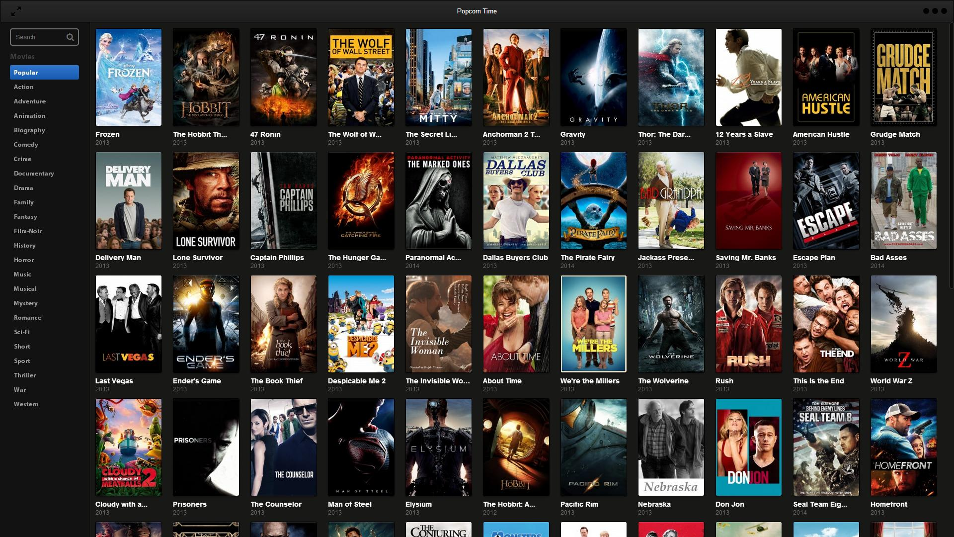 Popcorn Time sotto sequestro, la fine del Netflix pirata?
