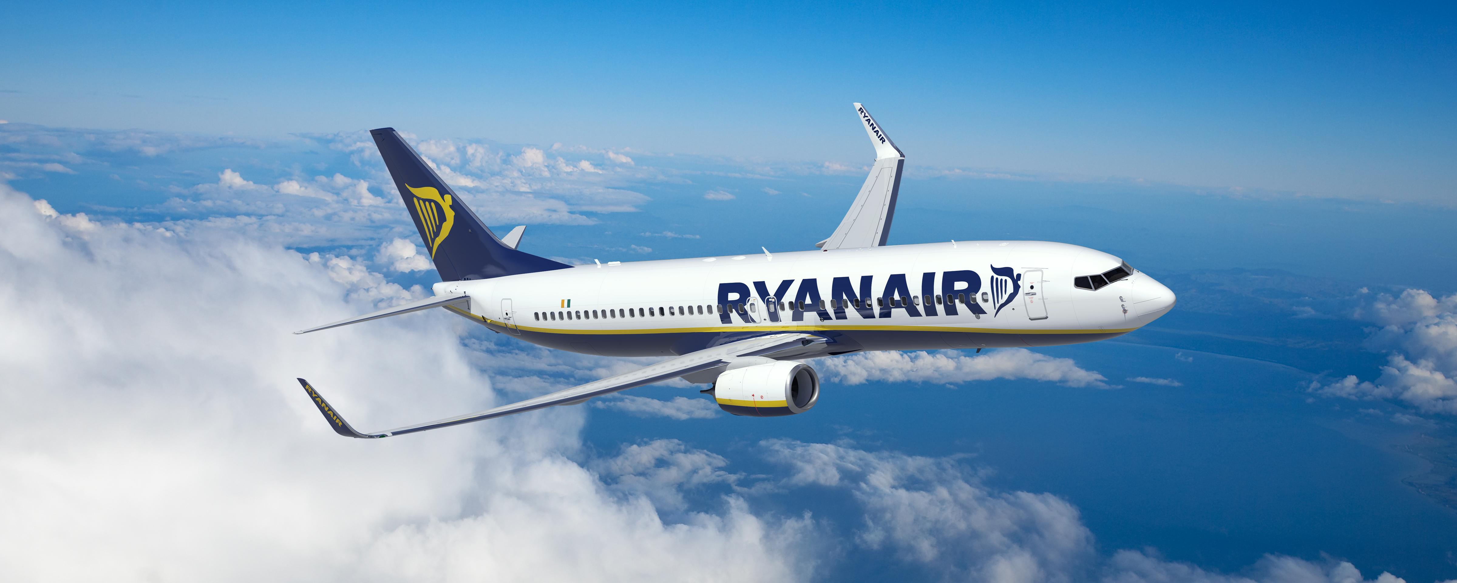 Ryanair, novità per i voli estate 2016: su Roma 7 nuove rotte