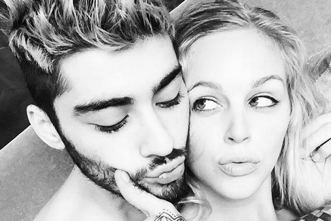 One Direction, Zayn Malik bacia una misteriosa bionda su Instagram