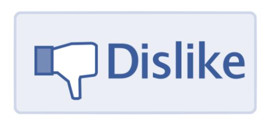 """Su Facebook arriva il tasto """"non mi piace"""" ma non per tutti i post"""