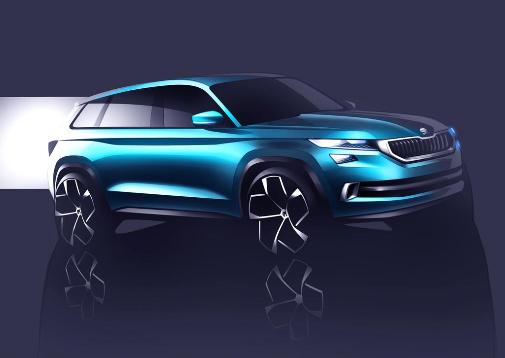 Skoda Vision S Concept, tra i motori anche un ibrido