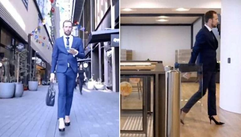 """Manager di banca va al lavoro coi tacchi a spillo: """"Danno energia"""""""