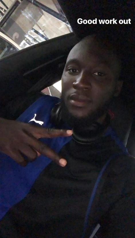 Lukaku, prima foto con la maglia nerazzurra